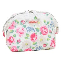キャスキッドソン ポーチ CATH KIDSTON 668859 BORDER FRAME COSMETIC BAG DAISIES AND ROSES ポーチ CREAM