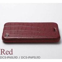 Deff Luxury Genuine Leather Case for iPhone6/6s Red DCS-IP6SLRD