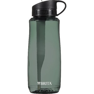 Brita Hard Sided Water Filter Bottle, 34-Ounce, color/design may vary by Brita