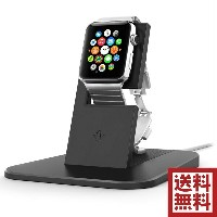 Twelve South HiRise Stand for Apple Watch | Charge, Protect and Dock your Apple Watch, Black