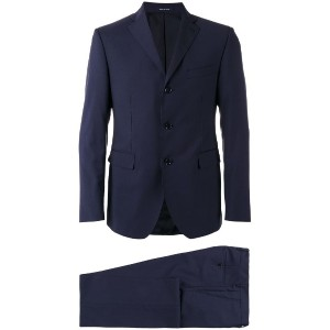 Tagliatore - three button suit - men - キュプロ/ウール - 48