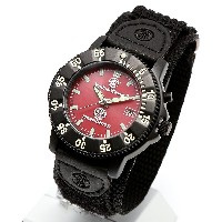 [Smith & Wesson]スミス&ウェッソン ミリタリー腕時計 455 FIRE FIGHTER WATCH RED/BLACK SWW-455F [正規品]
