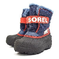[ソレル] SOREL Childrens Snow Commander NC1877 591(Nocturnal, Sail Red/11)