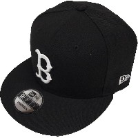 New Era Boston Red Sox Black White Logo Snapback Cap 9fifty Limited Edition
