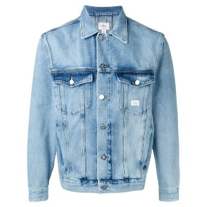 Calvin Klein Jeans - washed denim jacket - men - コットン - XL
