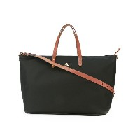 Lauren Ralph Lauren - contrast handle tote - women - レザー/ナイロン - ワンサイズ