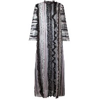 Giambattista Valli - vertical striped maxi dress - women - シルク/ポリアミド/ビスコース - 46