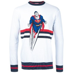 Iceberg - Superman motif jumper - men - コットン - M