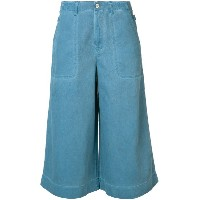 Vivienne Westwood Anglomania - Denim Wave キュロット - women - コットン - 27