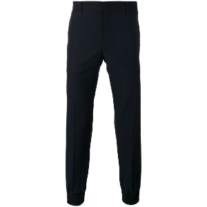 Wooyoungmi - tailored trousers - men - ウール - 52
