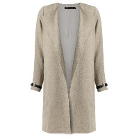 Andrea Marques - oversized coat - women - リネン - 40