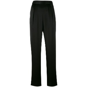 Diane Von Furstenberg - tailored trousers - women - ポリエステル/トリアセテート - M
