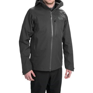 マウンテンハードウェア Mountain Hardwear メンズ アウター レインコート【Alchemy Hooded Dry.Q Elite Jacket - Waterproof】Black