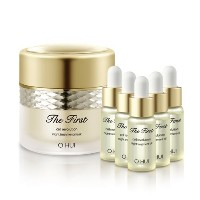 Ohui The First Cell Revolution Night Treatments Mask (60ml)&Oil (5mlx5) Anti-aging K-beauty [並行輸入品]