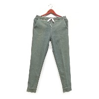 PLEASANT(プレザント)/ GREEN DENIM MANCHET PANTS Col.GREEN/ LP-02