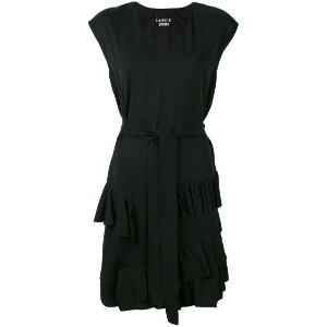 Boutique Moschino - ruffle detail dress - women - レーヨン/other fibers - 38