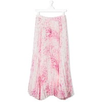 Roberto Cavalli Kids - tie dye pleated skirt - kids - ポリエステル/アセテート/キュプロ - 14 yrs