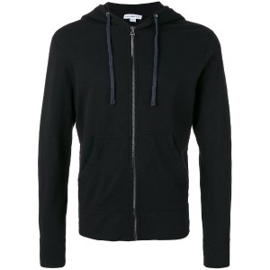 James Perse - zipped hoodie - men - コットン - M