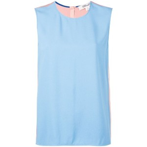 Diane Von Furstenberg - shift top - women - アセテート/ビスコース - S