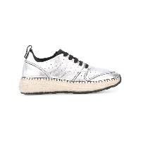 Tod's - braided sole sneakers - women - レザー/ポリエステル/rubber - 36