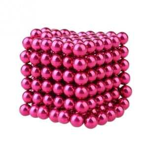 Colorful 5mm 3D Puzzle Ball Sphere Magnetic Ball Magnet Balls Magic Beads For Gift Toy 216pcs