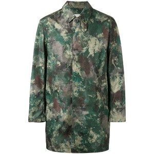 Mackintosh - camouflage print coat - men - ナイロン - 40