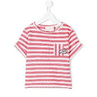 Une Fille - striped top - kids - コットン - 10歳