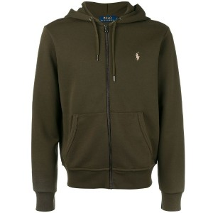 Polo Ralph Lauren - zip front hoodie - men - ポリエステル/コットン - XXL