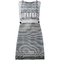 Issey Miyake - pleated midi dress - women - ポリエステル - 2