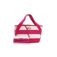 TOMMY HILFIGER(トミーヒルフィガー) トートバッグ 6929239 653 NATURAL/RASBERRY