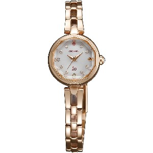 [オリエント] ORIENT 腕時計 iO Ladies Sweet Jewelry Solar Quartz SWD08003W0 《逆輸入品》