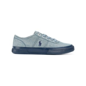 Polo Ralph Lauren - logo embroidered sneakers - men - コットン/rubber - 10