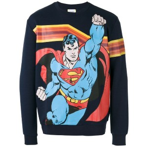 Iceberg - Superman print sweatshirt - men - コットン/ポリエステル - L