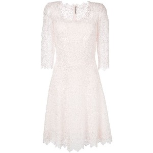 Ermanno Scervino - embroidered dress - women - シルク/ポリエステル/ビスコース - 46