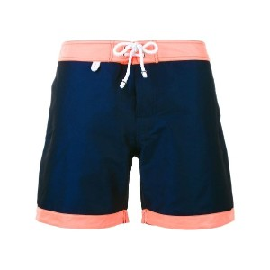 Cuisse De Grenouille - Atlantique swim shorts - men - コットン/ポリアミド/ポリエステル - L