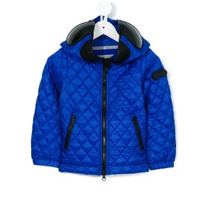 Ai Riders On The Storm Kids - mask padded jacket - kids - ナイロン/ポリエステル - 12歳