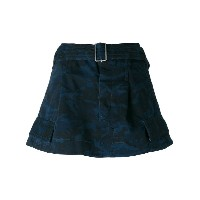 Marc Jacobs - camouflage pattern skirt - women - コットン - 0
