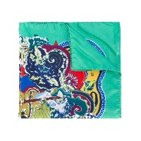 Etro - floral print pocket square - men - シルク - ワンサイズ