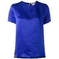 Max Mara - crew neck top - women - シルク - 44