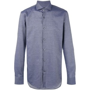 Boss Hugo Boss - chambray shirt - men - コットン - 41