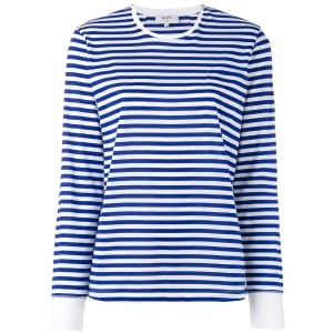 Vis A Vis - striped breton top - women - コットン - 4