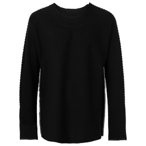 Issey Miyake - perforated jumper - men - コットン/ナイロン - M