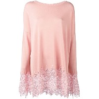 Ermanno Scervino - embroidered hem jumper - women - ポリエステル/ビスコース - 48