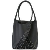 Paco Rabanne - scale effect tote - women - レザー/metal - ワンサイズ