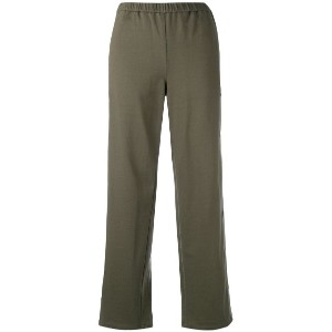 Vis A Vis - straight-leg trousers - women - コットン/レーヨン - III