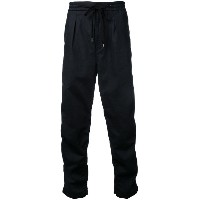 monkey time - wide leg trousers - men - コットン/リネン - S