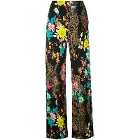 Etro - floral paisley trousers - women - ビスコース - 44