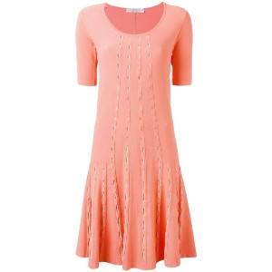 D.Exterior - knitted flared dress - women - ポリエステル/ビスコース - L