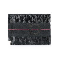 Salvatore Ferragamo - textured logo wallet - men - カーフレザー - ワンサイズ