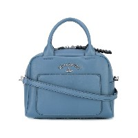 Vivienne Westwood - logo plaque tote - women - レザー - ワンサイズ